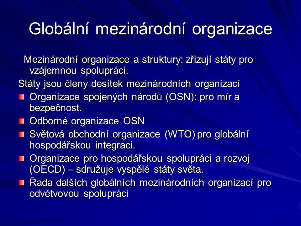 Globální mezinárodní organizace