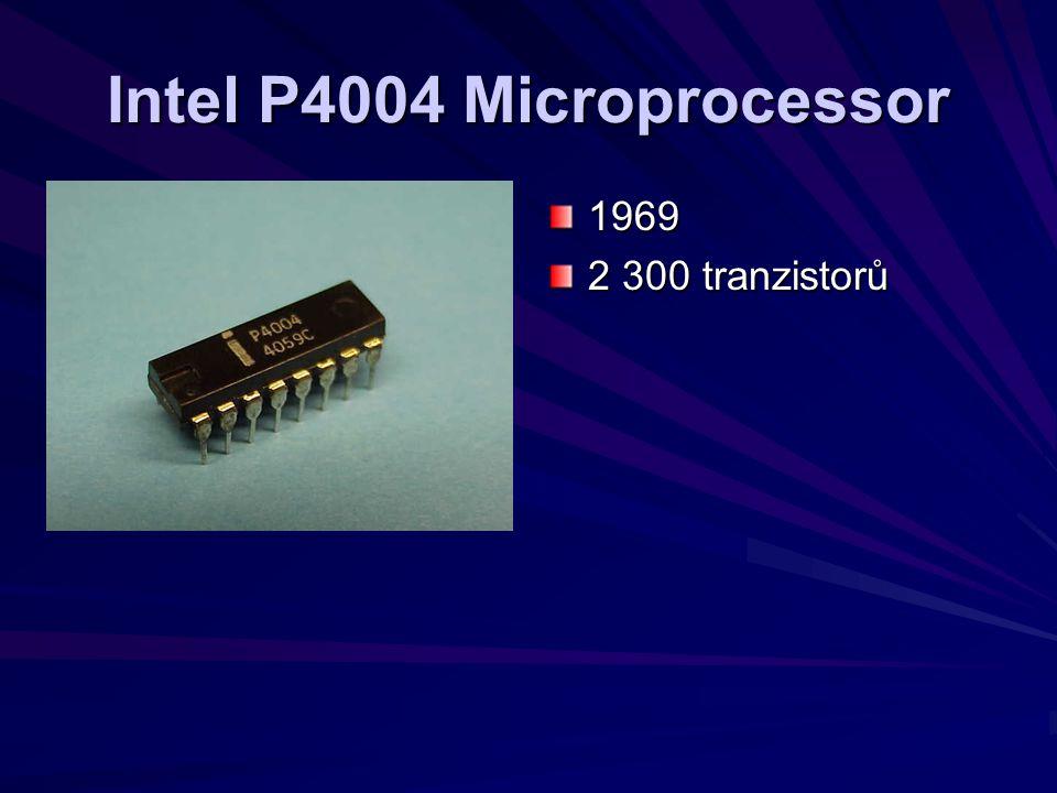 Intel P4004 Microprocessor