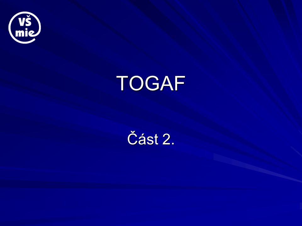 TOGAF Část 2.