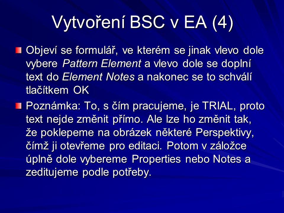 Vytvoření BSC v EA (4)
