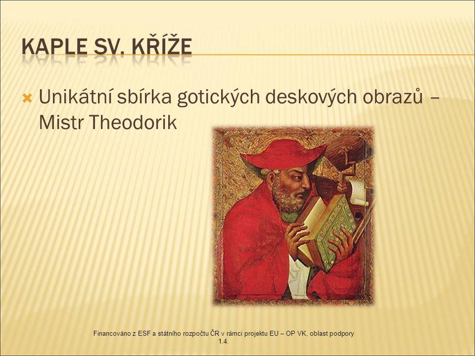 Unikátní sbírka gotických deskových obrazů – Mistr Theodorik