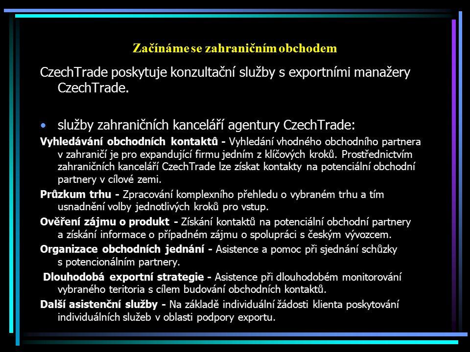 Začínáme se zahraničním obchodem