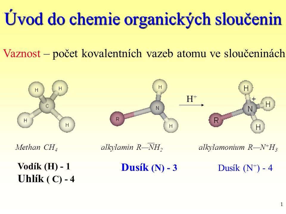 Úvod do chemie organických sloučenin