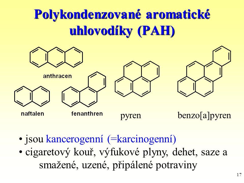 Polykondenzované aromatické uhlovodíky (PAH)