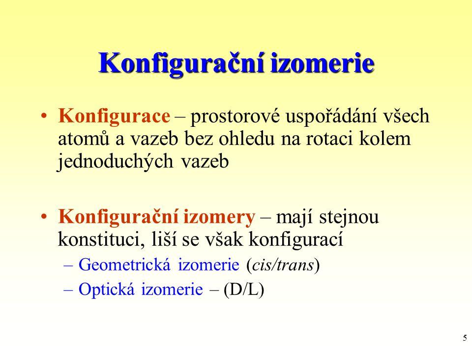 Konfigurační izomerie