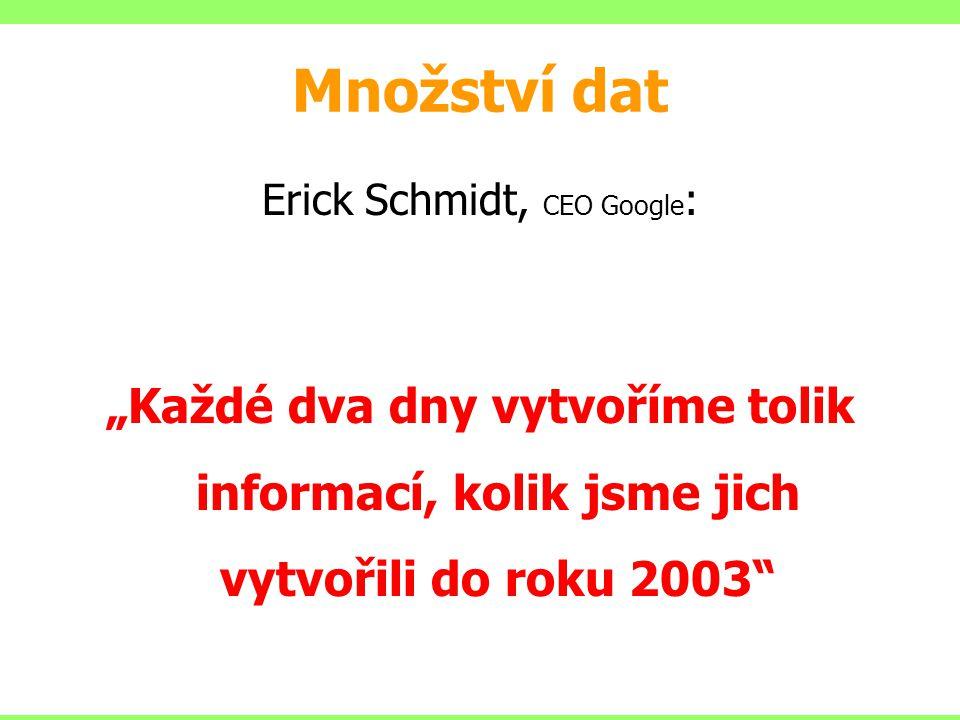 Erick Schmidt, CEO Google:
