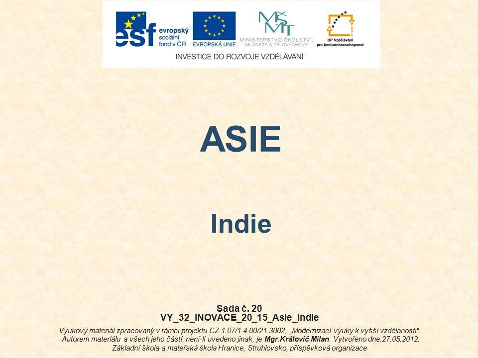 VY_32_INOVACE_20_15_Asie_Indie