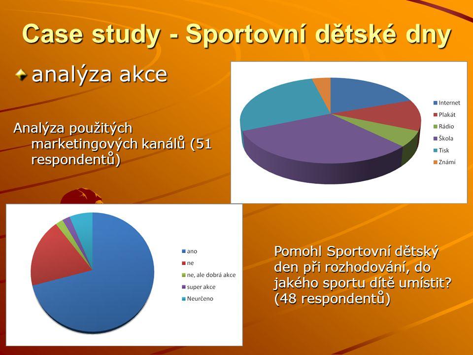 Case study - Sportovní dětské dny