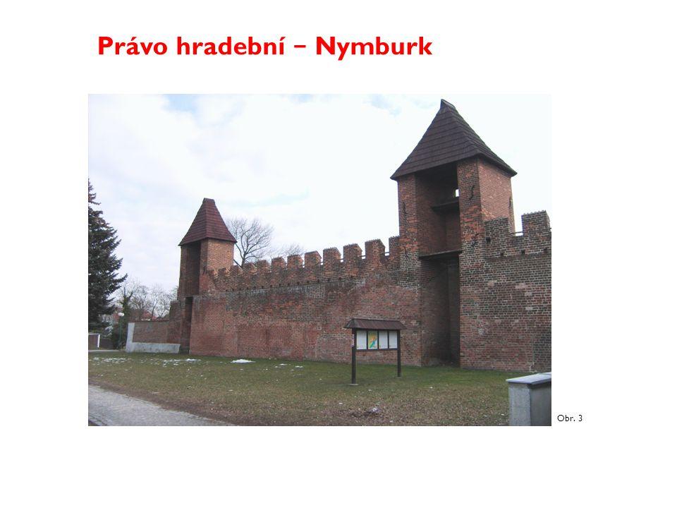 Právo hradební − Nymburk
