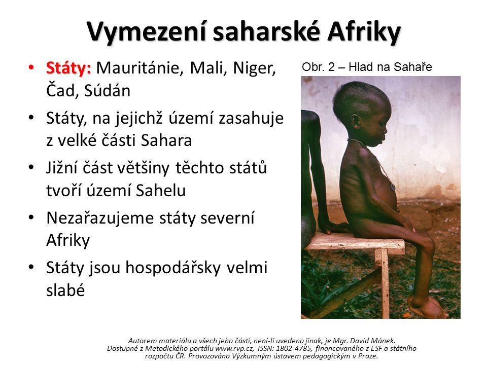 Vymezení saharské Afriky