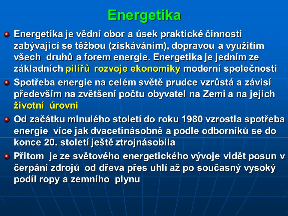Energetika