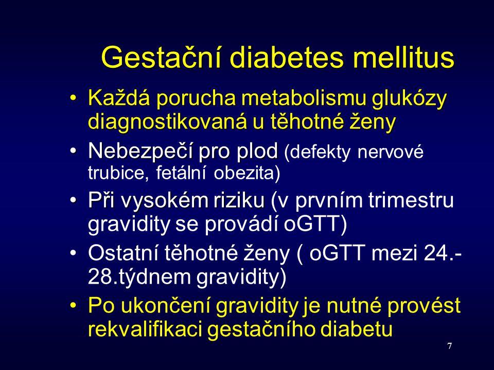 Gestační diabetes mellitus