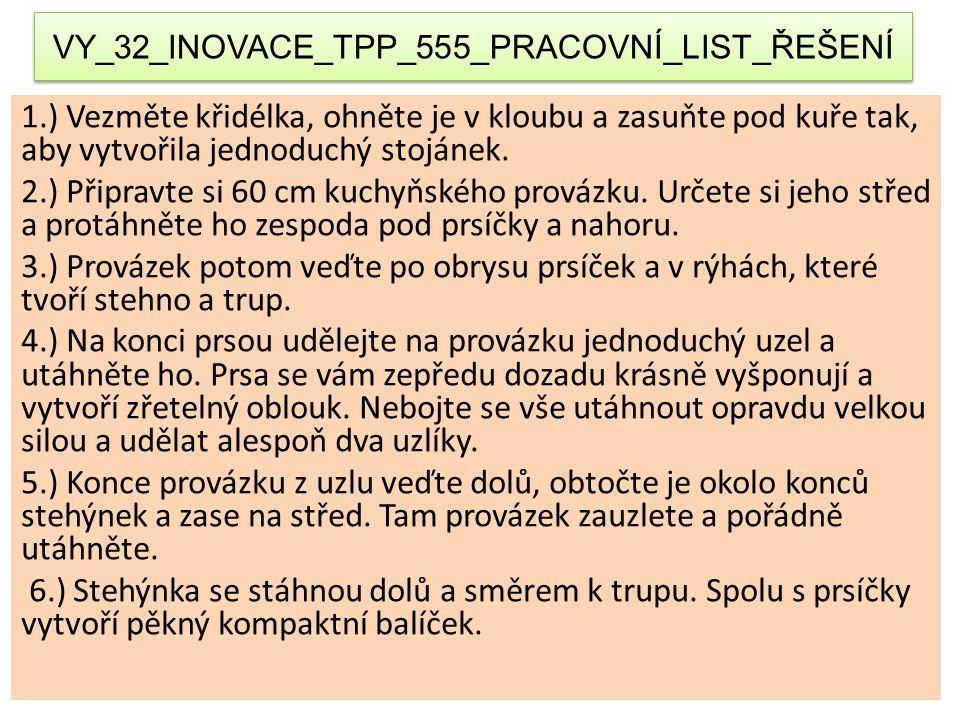 VY_32_INOVACE_TPP_555_PRACOVNÍ_LIST_ŘEŠENÍ
