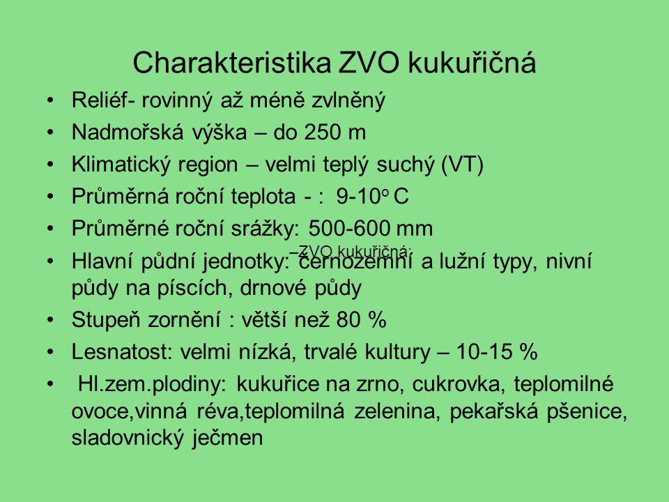 Charakteristika ZVO kukuřičná