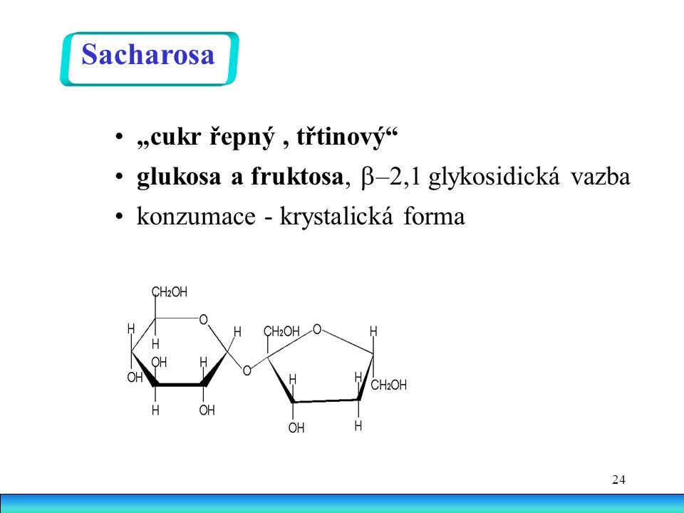 """Sacharosa • """"cukr řepný , třtinový"""