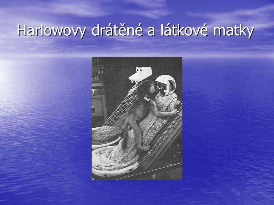 Harlowovy drátěné a látkové matky