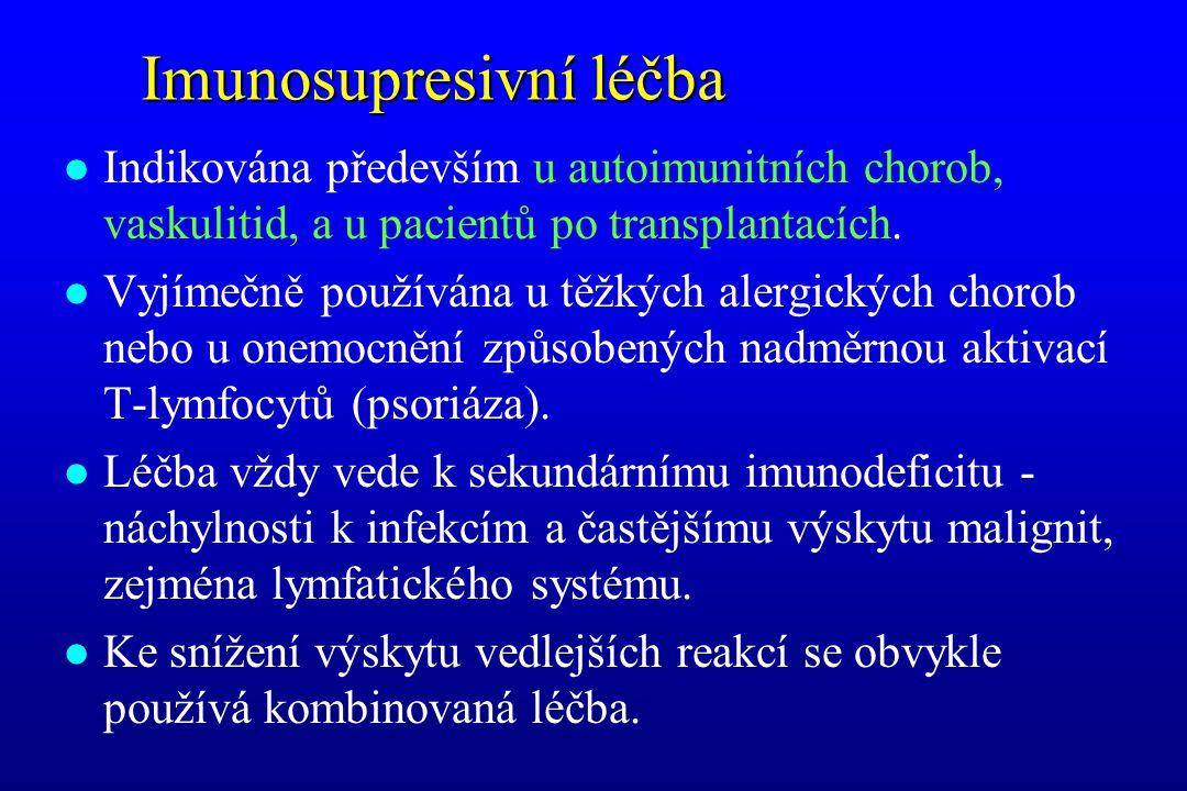 Imunosupresivní léčba