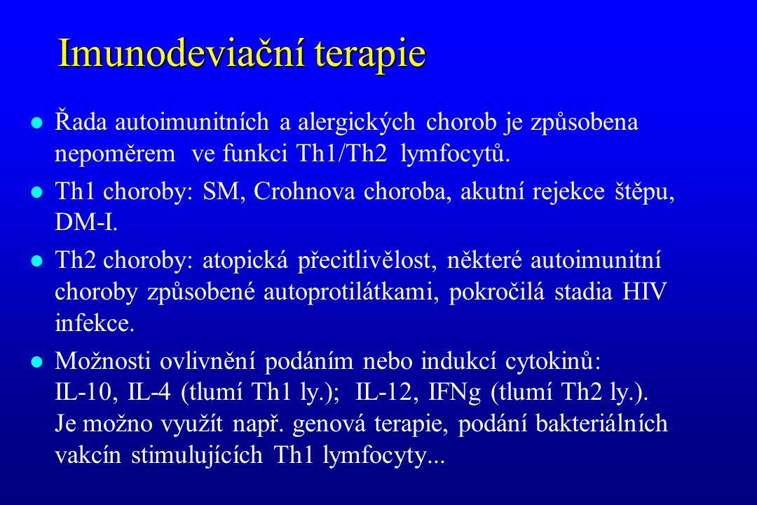 Imunodeviační terapie