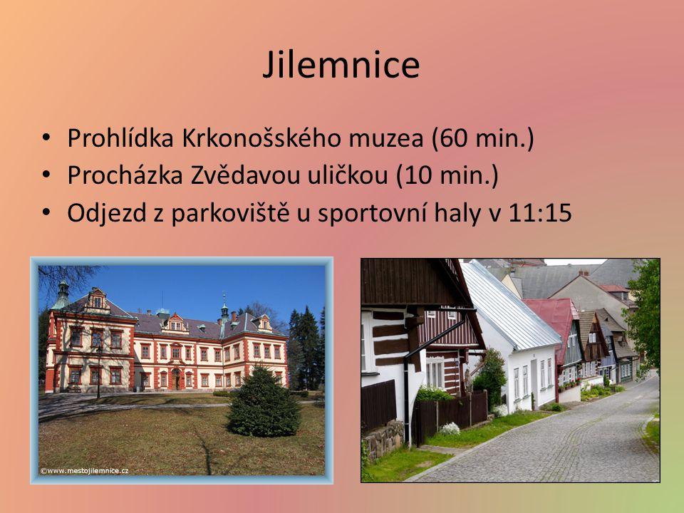 Jilemnice Prohlídka Krkonošského muzea (60 min.)