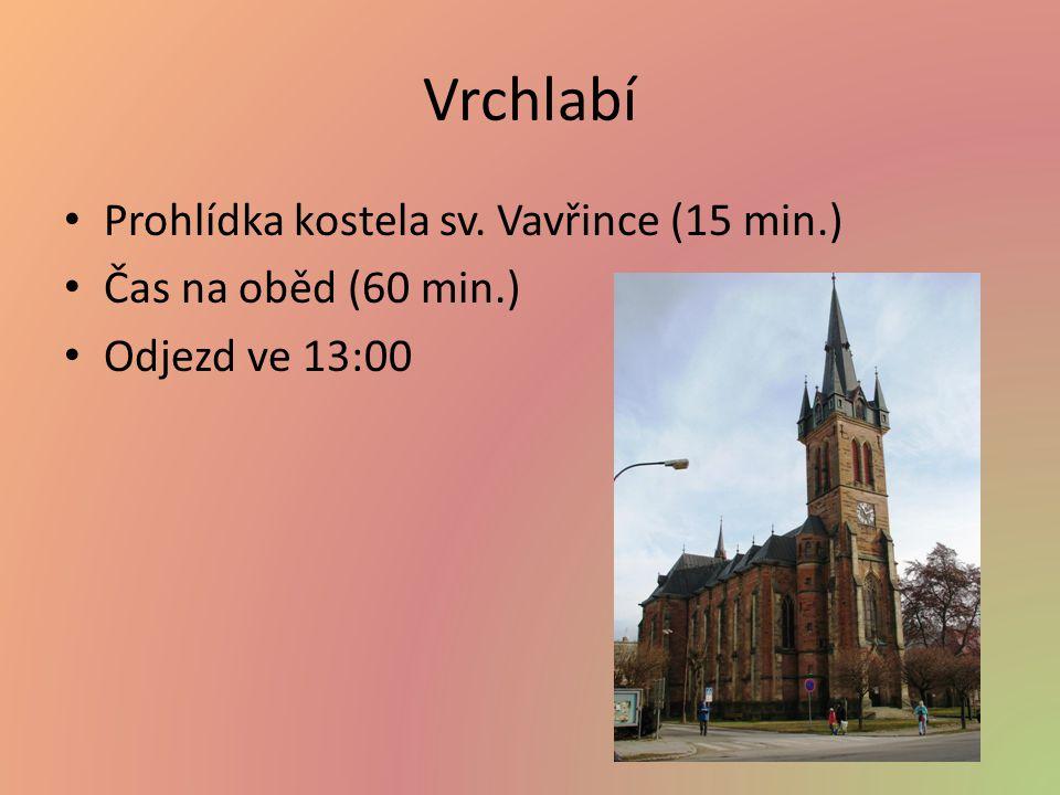 Vrchlabí Prohlídka kostela sv. Vavřince (15 min.)