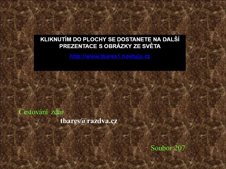 Cestování zdar tbares@razdva.cz Soubor 207
