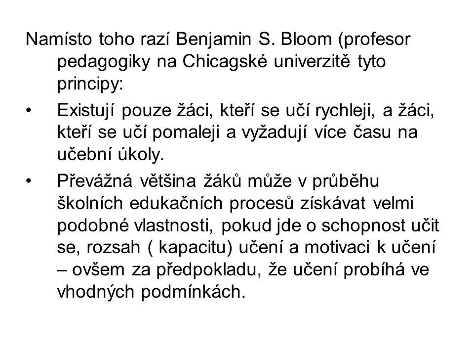 Namísto toho razí Benjamin S