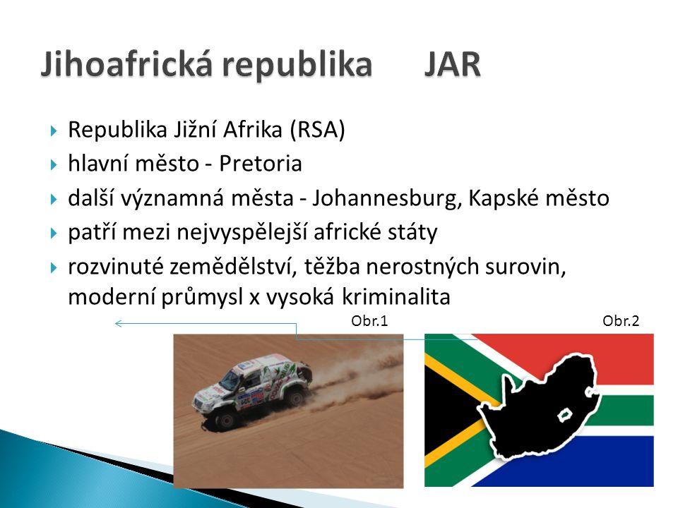 Jihoafrická republika JAR