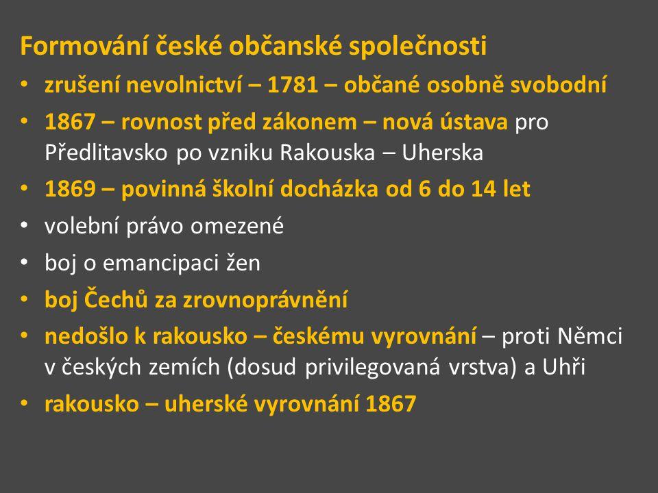 Formování české občanské společnosti