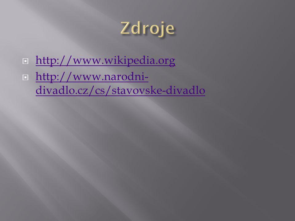 Zdroje http://www.wikipedia.org