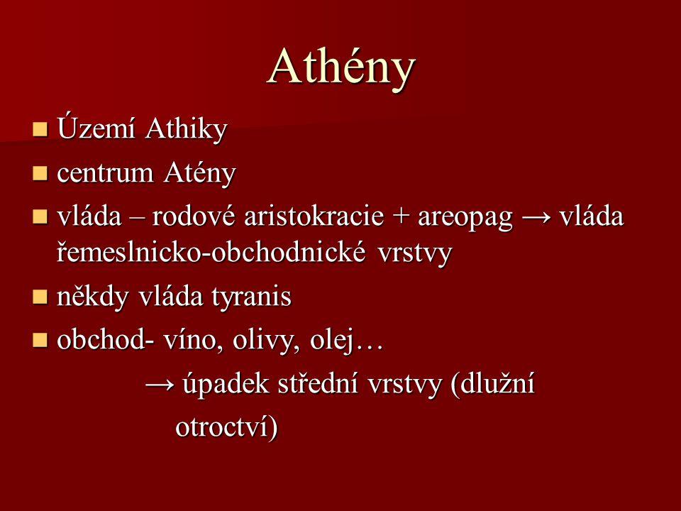 Athény Území Athiky centrum Atény