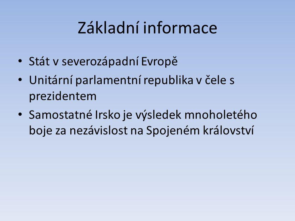 Základní informace Stát v severozápadní Evropě