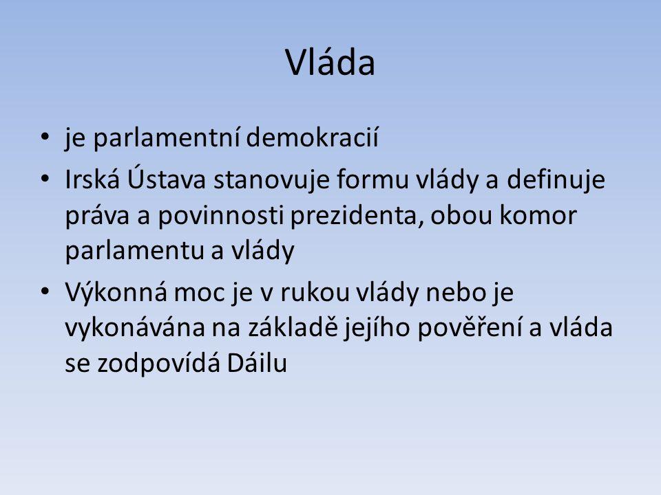Vláda je parlamentní demokracií