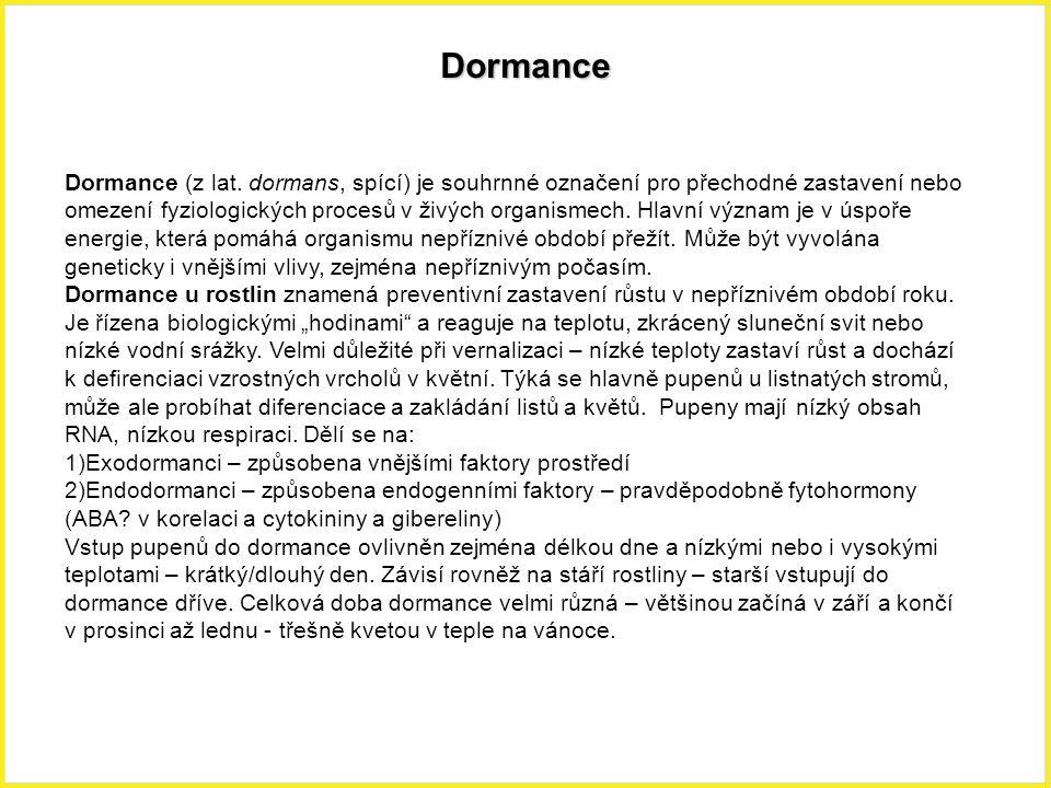 Dormance