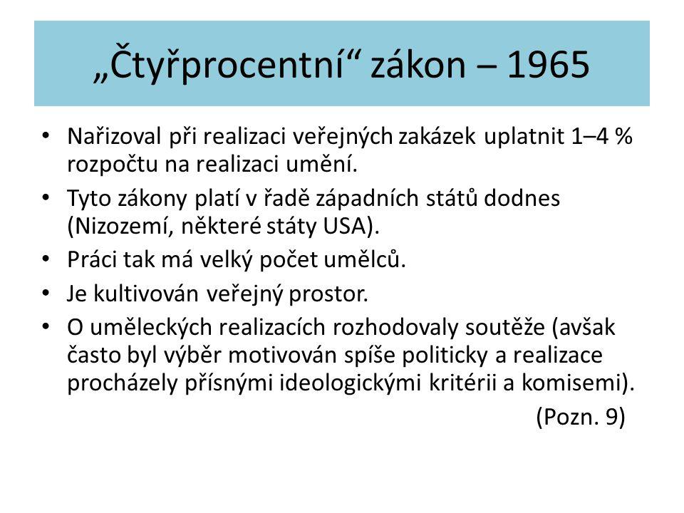 """""""Čtyřprocentní zákon – 1965"""