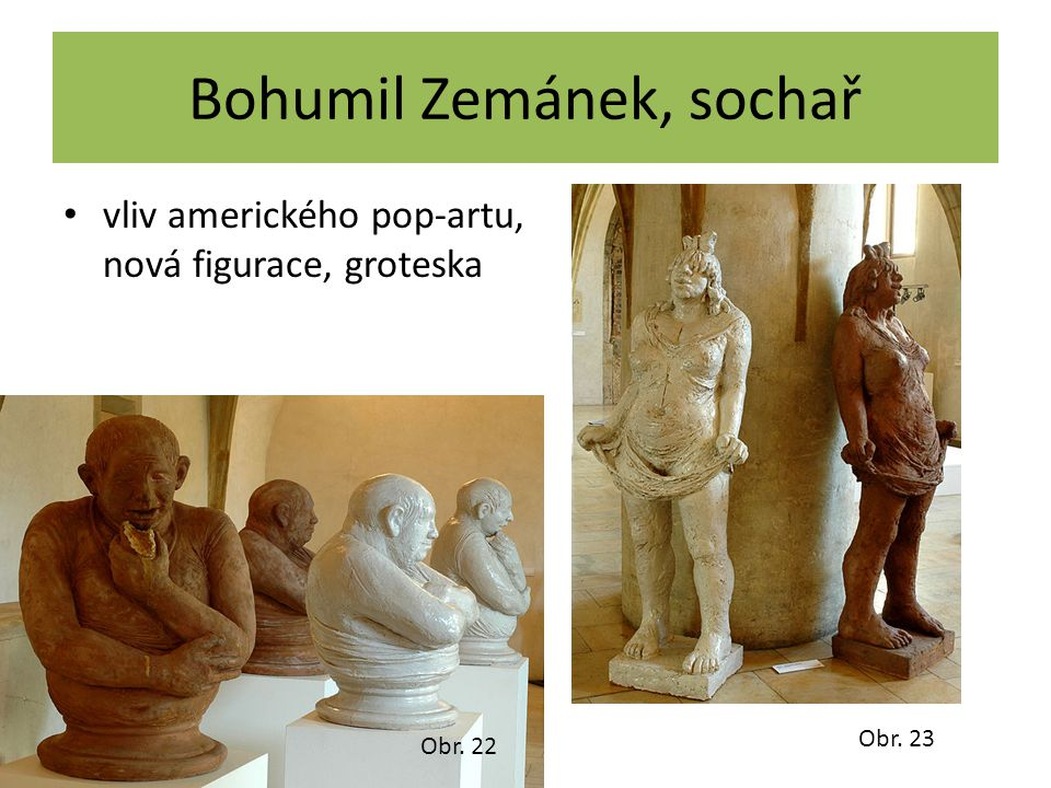 Bohumil Zemánek, sochař