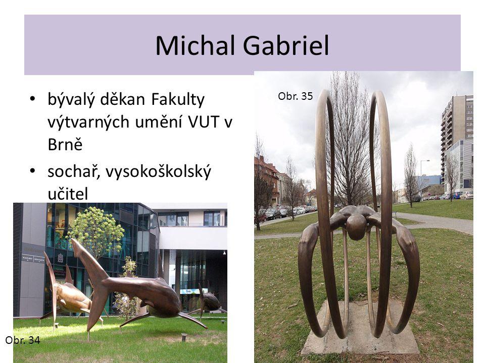 Michal Gabriel bývalý děkan Fakulty výtvarných umění VUT v Brně