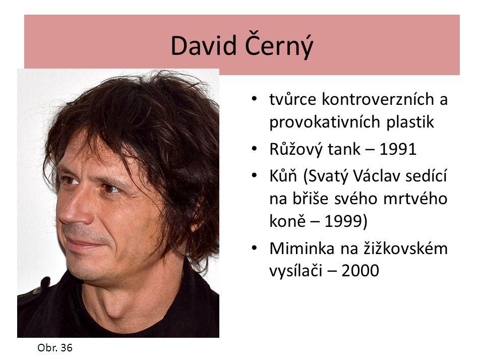 David Černý tvůrce kontroverzních a provokativních plastik