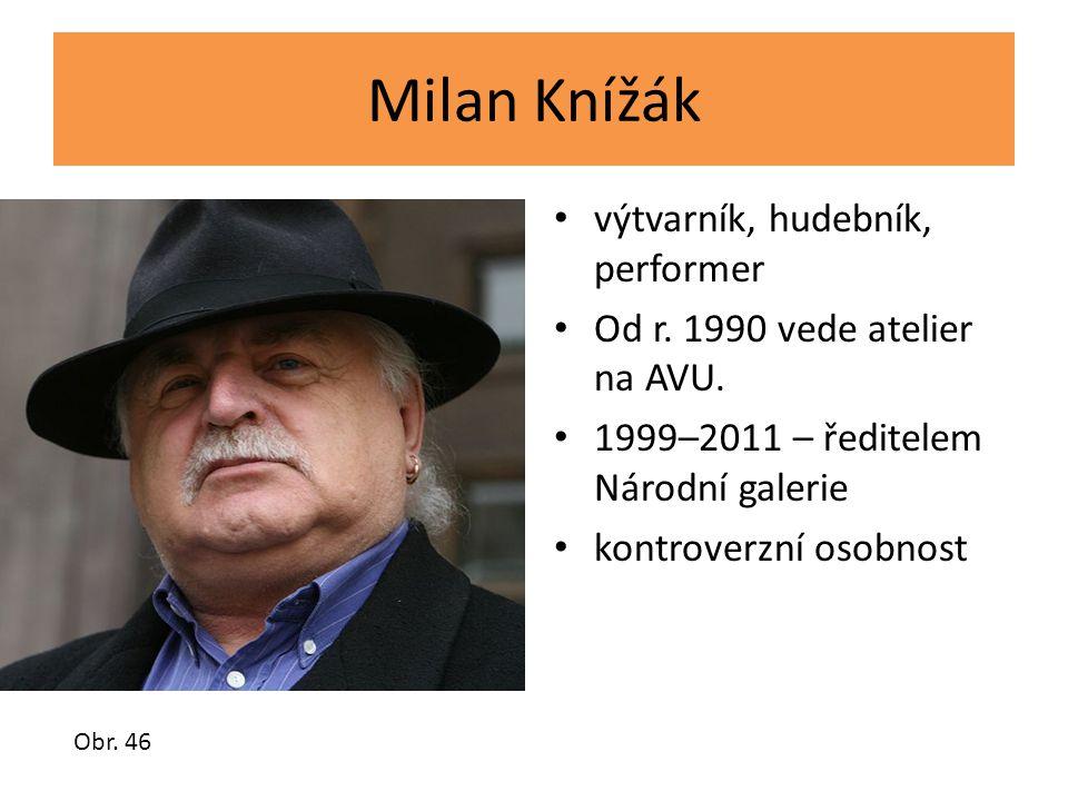 Milan Knížák výtvarník, hudebník, performer