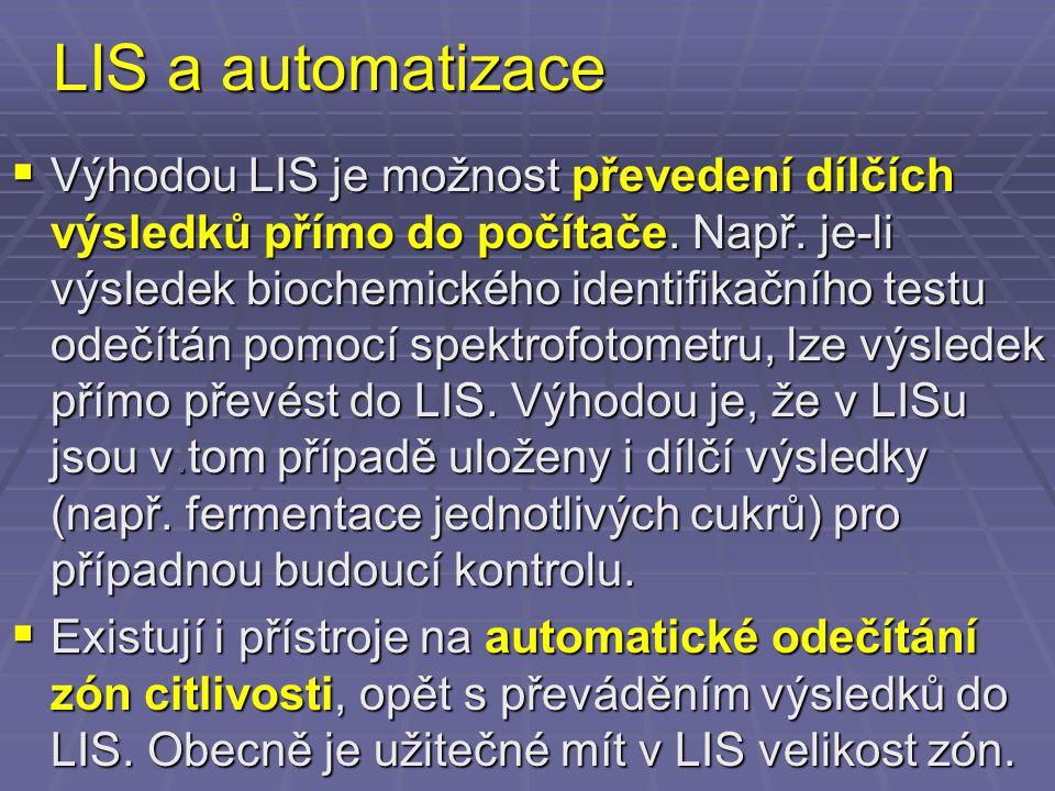 LIS a automatizace