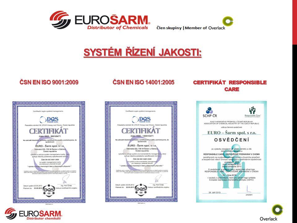 Systém řízení jakosti: Čsn en iso 9001:2009