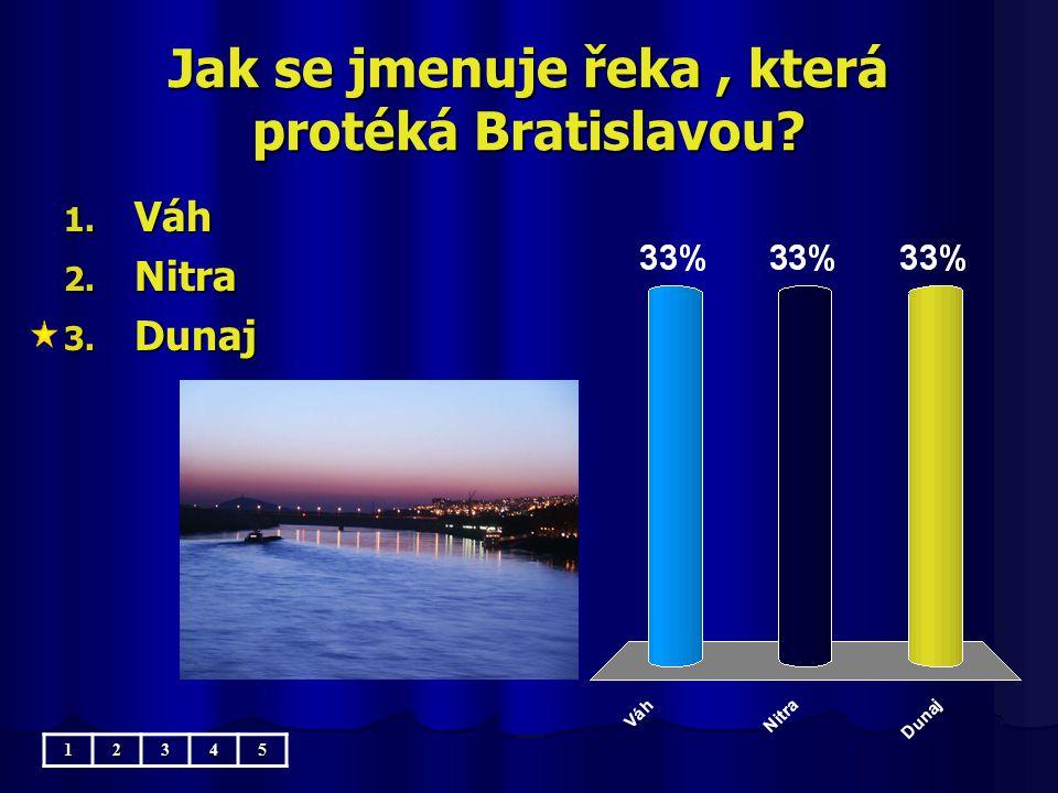 Jak se jmenuje řeka , která protéká Bratislavou