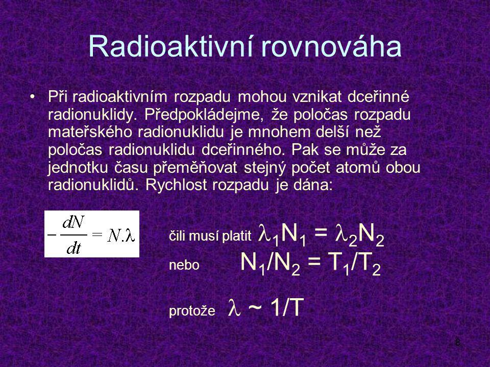 Radioaktivní rovnováha