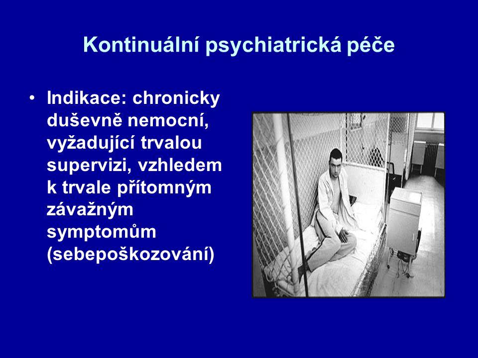 Kontinuální psychiatrická péče