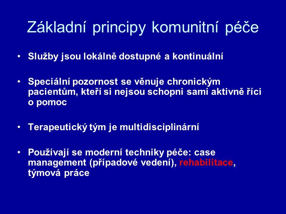 Základní principy komunitní péče