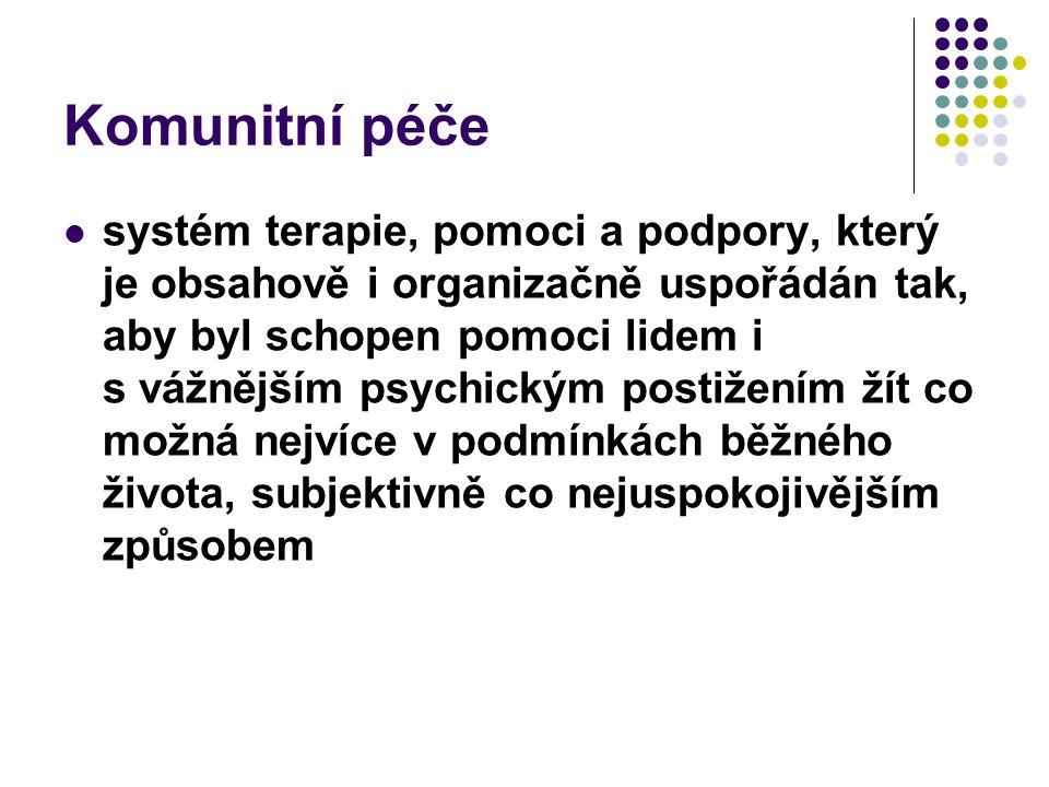 Komunitní péče