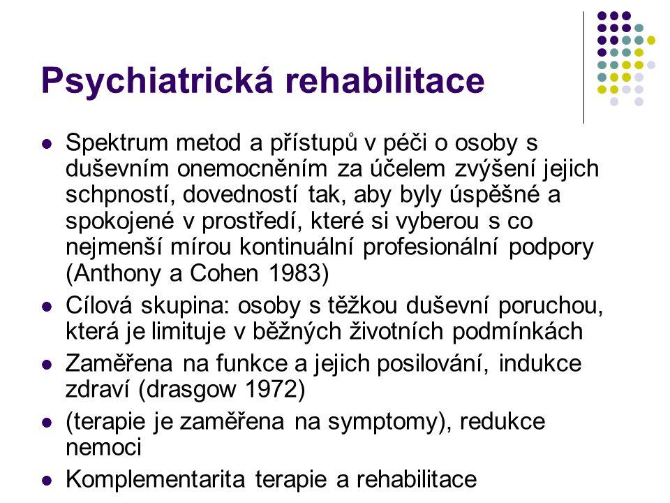 Psychiatrická rehabilitace