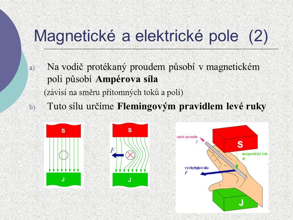 Magnetické a elektrické pole (2)