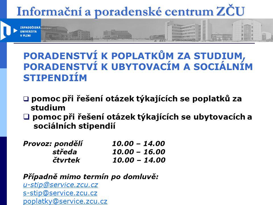 Informační a poradenské centrum ZČU