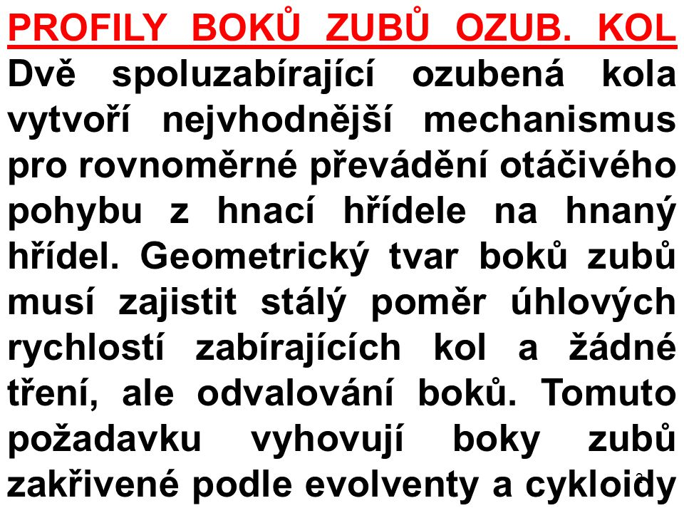 PROFILY BOKŮ ZUBŮ OZUB.