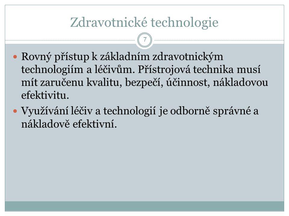 Zdravotnické technologie